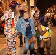 Bourbon Street, New Orleans - Halloween